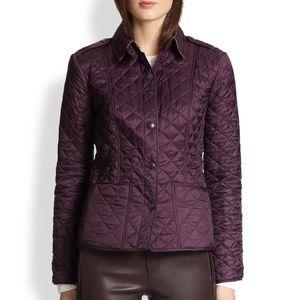 Burberry Jackets & Coats - Burberry Kencott Nova Check Lined Quilted Jacket
